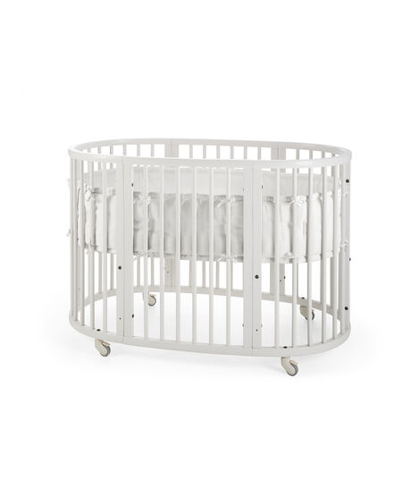 Stokke® Sleepi™ Bumper White, Blanco, mainview view 5