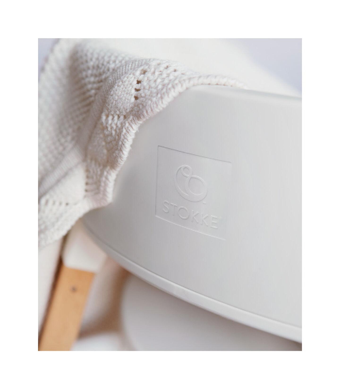 Stokke® Steps™ Højstol Natural, White/Natural, mainview view 4