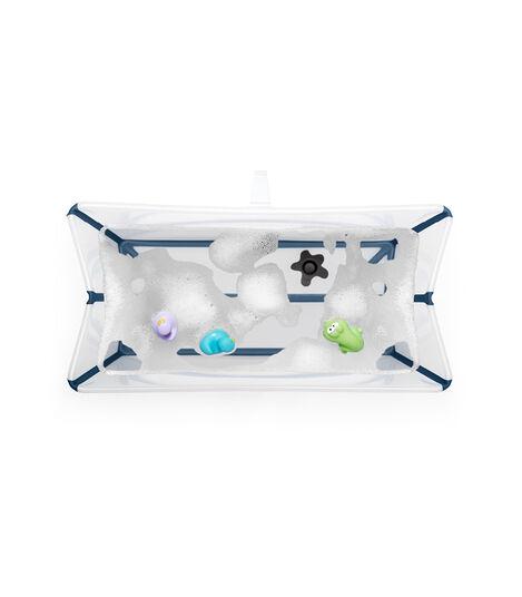 Stokke® Flexi Bath ® Large White Aqua, Transparent Blue, mainview view 3