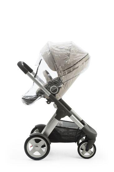 Stokke® Crusi™ with Stokke® Stroller Seat, Beige Melange.