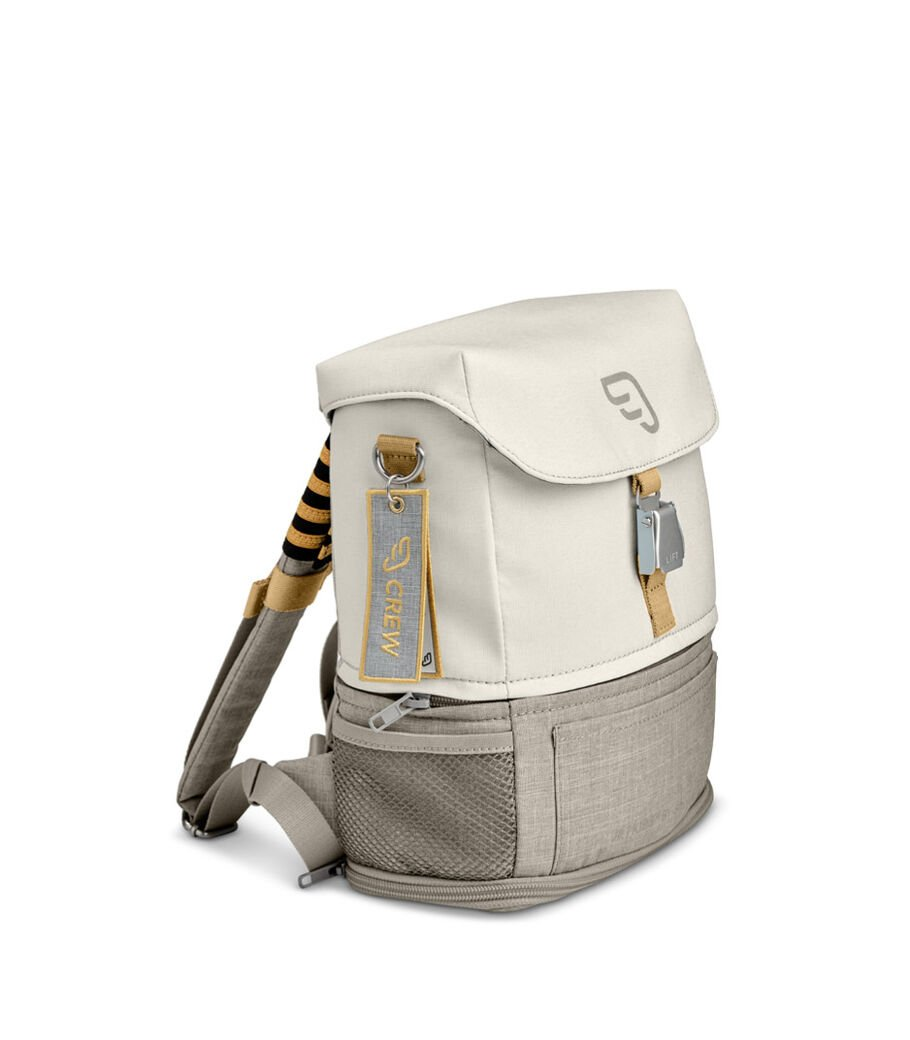 JetKids™ by Stokke® Crew BackPack Full Moon White view 8
