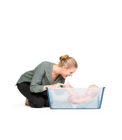 Stokke® Flexi Bath® Transparente Azul, Transparente Azul, mainview view 2