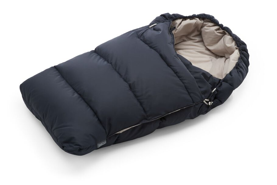 Stokke® Down Sleepingbag, Dark Navy.