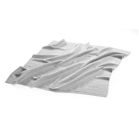 Blanket, Merino Wool, Light Grey view 3