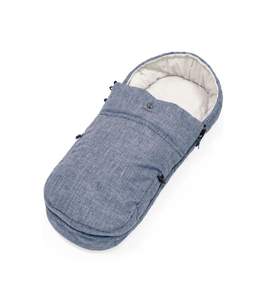 Stokke® Beat™ Soft Bag, Blue Melange. view 38