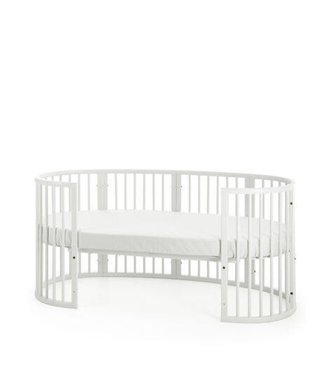 Stokke® Sleepi™ Junior Påbyggingssett White, White, mainview view 4