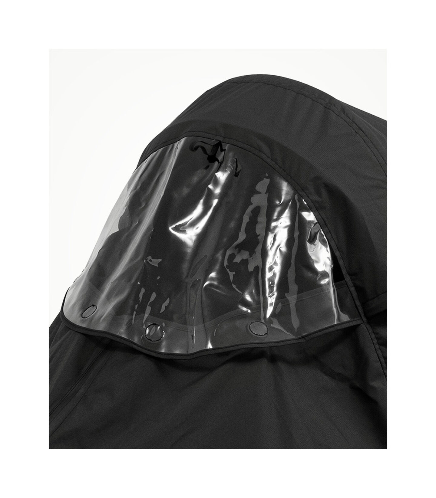 Stokke® Xplory® X Regenschutz Black, Black, mainview view 4