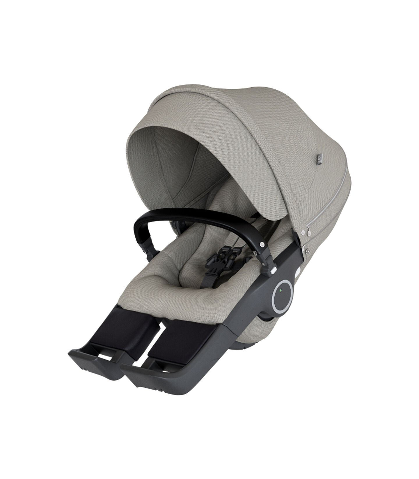 Stokke® Stroller Seat Complete Brushed Grey, Brushed Grey, mainview