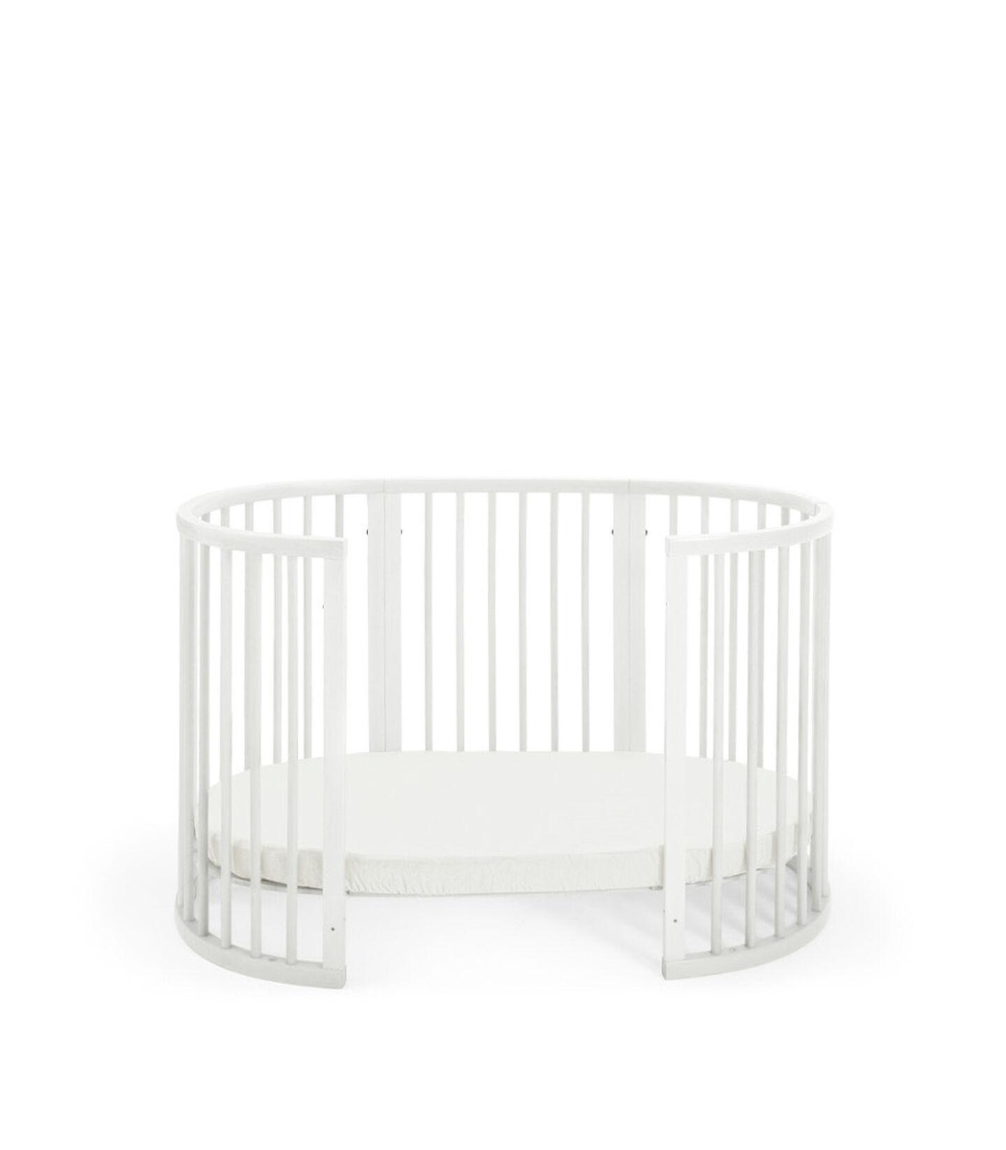 Stokke® Sleepi™ Bed. White. Toddler.