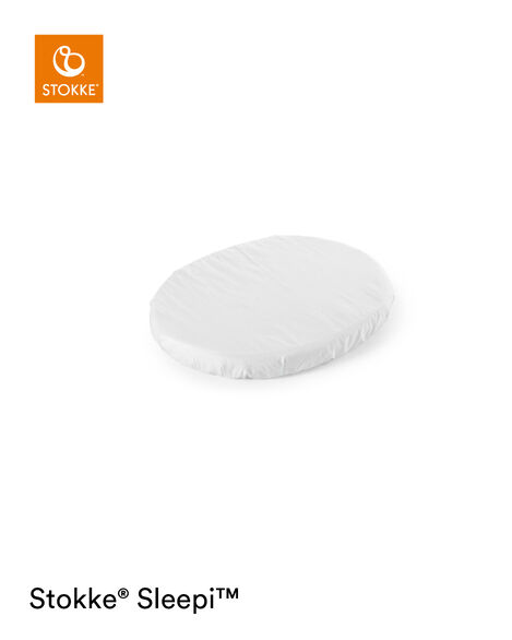 Stokke® Sleepi™ Mini Sáb. Bajera ajustable Blanco, Blanco, mainview view 5