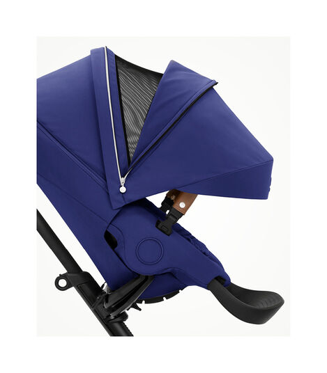 Stokke® Xplory® X Royal Blue Stroller with Seat. Forward Facing. Open Ventilation. view 4