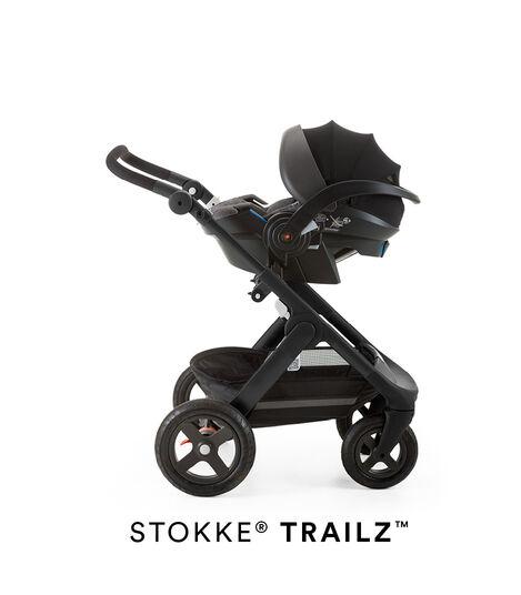 Stokke® iZi Go Modular™ X1 by BeSafe® Black Melange, Black Melange, mainview view 5