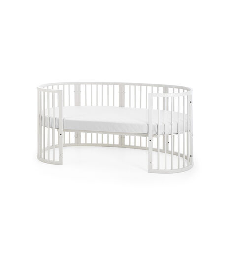 Junior Bed, White.