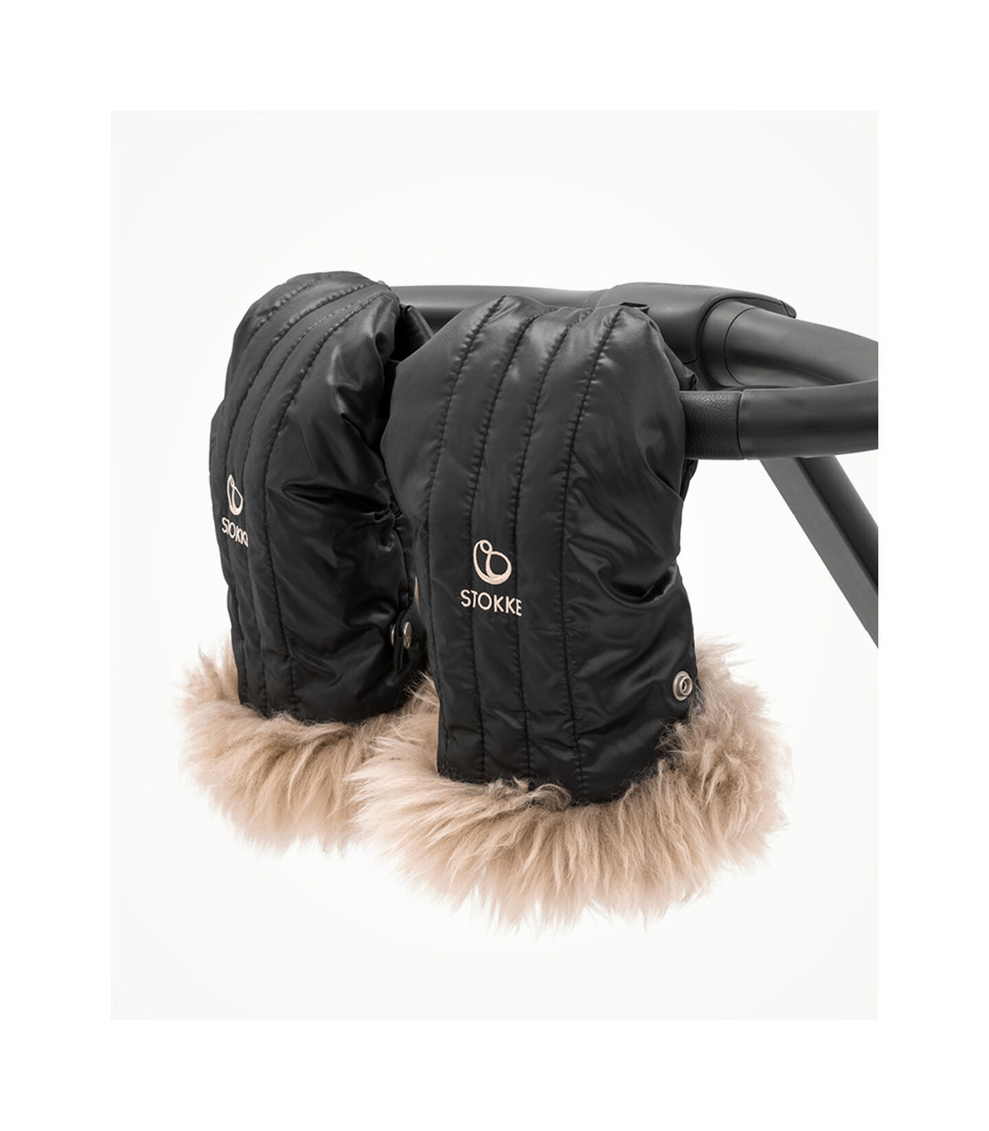 Stokke® Stroller Mittens Onyx Black, Nero Onice, mainview view 3