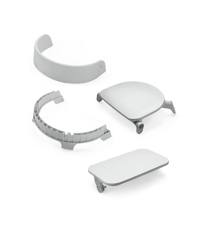 Stokke® Steps™ Chair Seat, Grey, mainview view 1