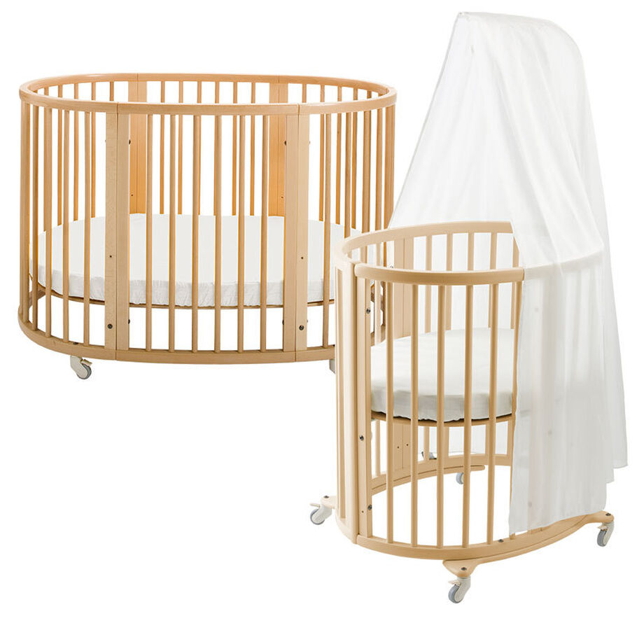 1038 Sleepi Bed + Mini JP Natural