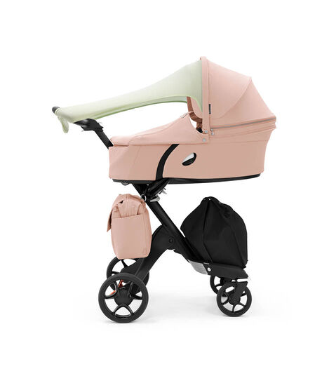 Stokke® Xplory® 6 Balance Limited Edition with Stokke® Xplory® Carry Cot. Soothing Pink.