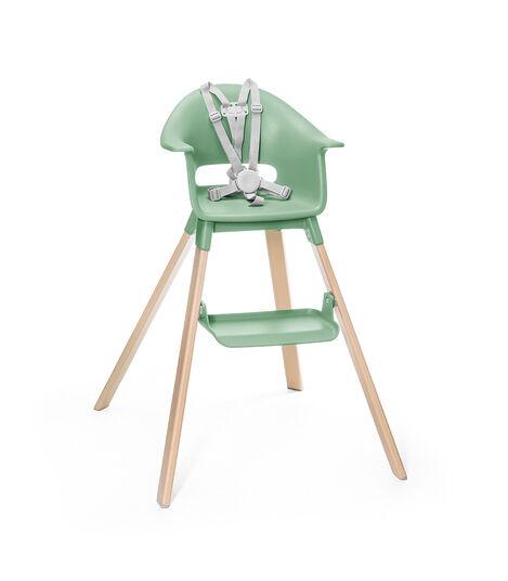 Stokke® Clikk™ Pedana Clover Green, Verde Trifoglio, mainview view 2