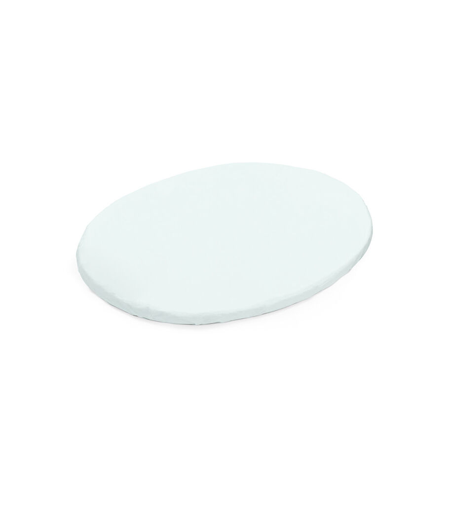 Stokke® Sleepi™ Mini Fitted Sheet, Powder Blue, mainview view 12