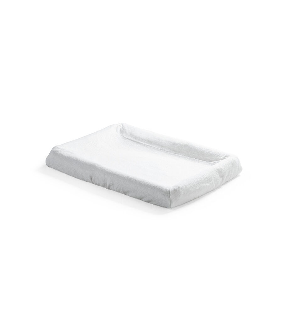 Stokke® Home™ Changer Mattress Cover 2pc White, , mainview