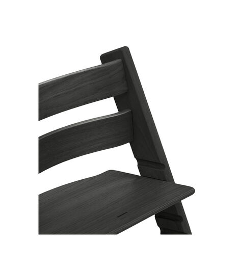 Tripp Trapp® Chair close up photo Oak Black view 3