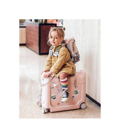 Zestaw podróżny BedBox™ + plecak Crew BackPack™ Różowy/Różowy, Pink / Pink, mainview view 2