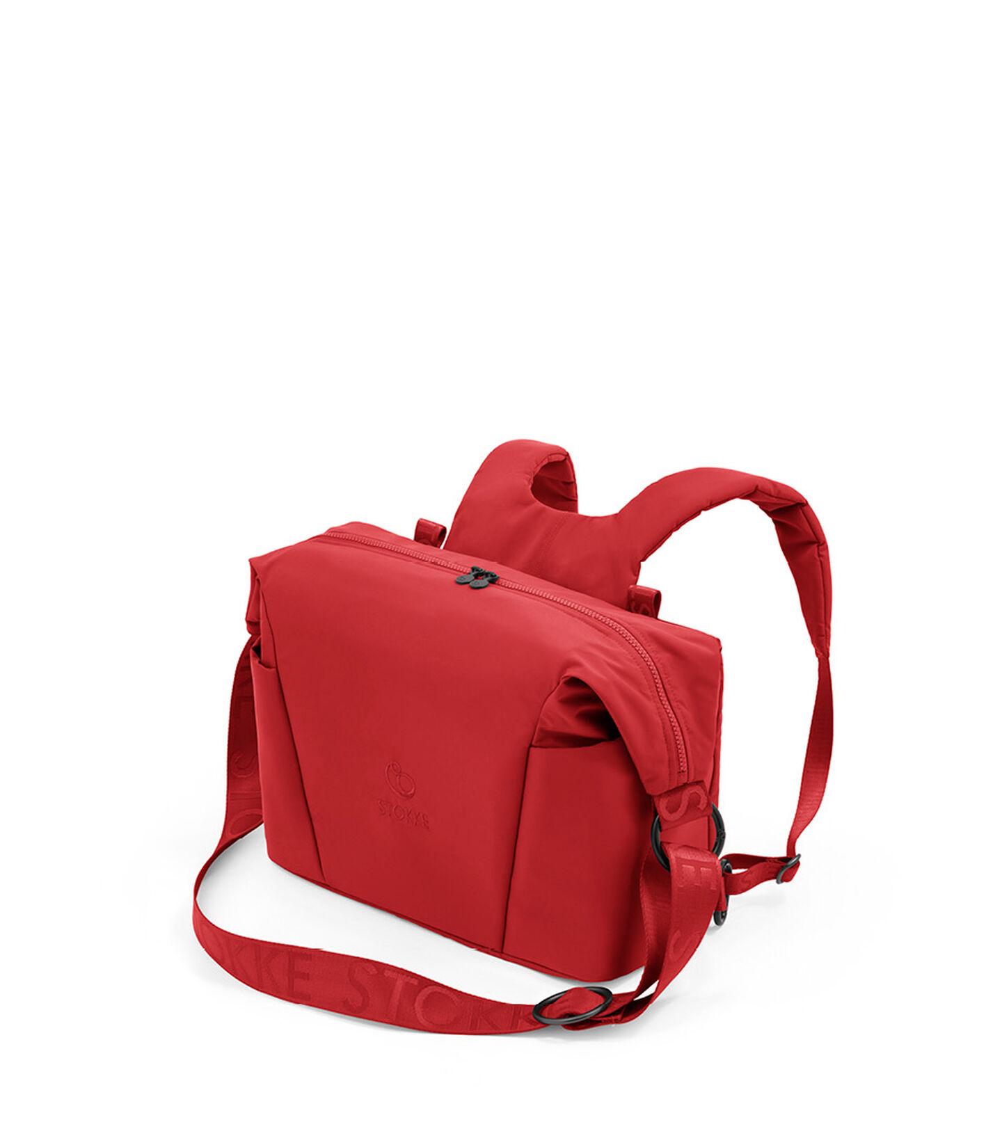 Stokke® Xplory® X Changing bag Ruby Red, Rojo Rubí, mainview view 2