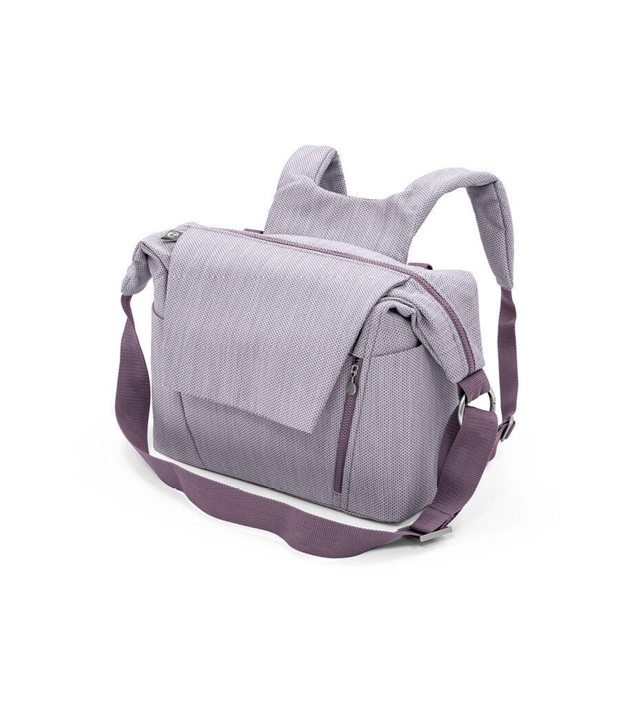 Stokke® Stroller Changing Bag, Brushed Lilac. view 15