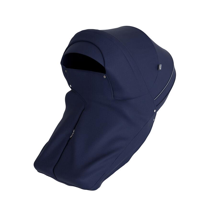 Stokke® Pram Storm Cover, Deep Blue, mainview