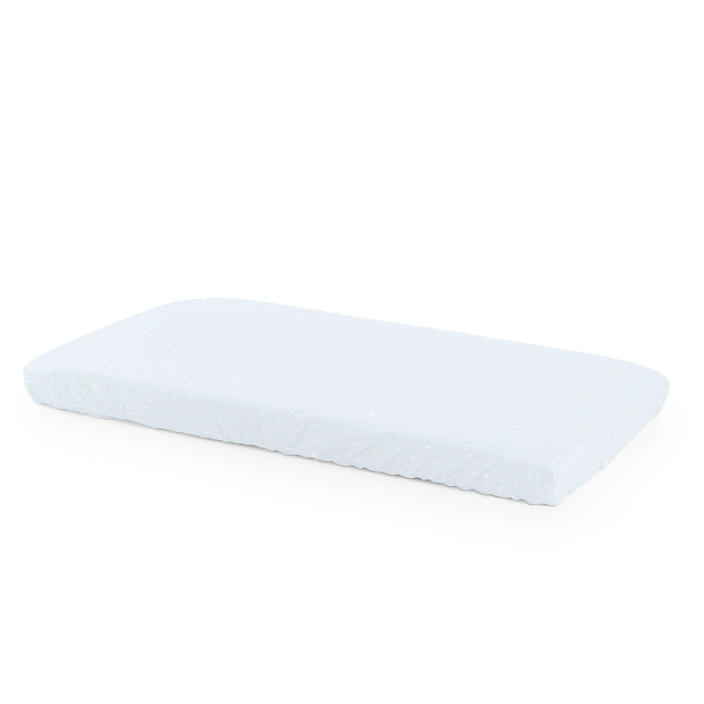 Mattress, Fitted Sheet, Blue Sea
