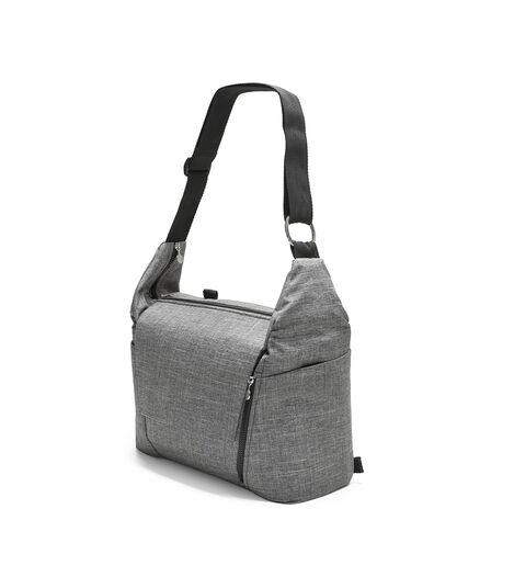 Stokke® Stroller Changing Bag, Black Melange. view 5