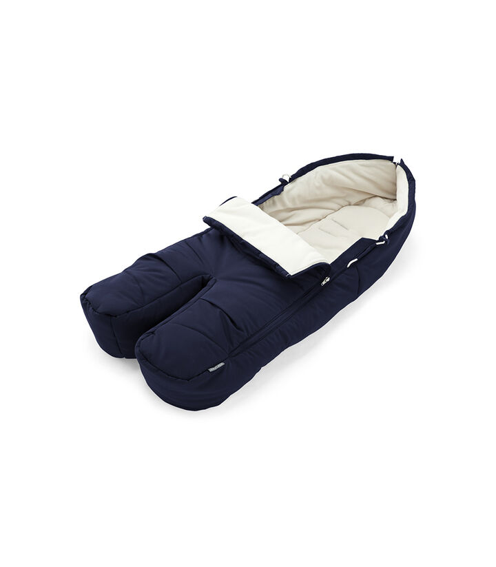 Stokke® Foot Muff, Deep Blue, mainview view 1