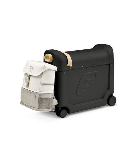 Zestaw podróżny BedBox™ + plecak Crew BackPack™ Czarny /Biały, Black / White, mainview view 3