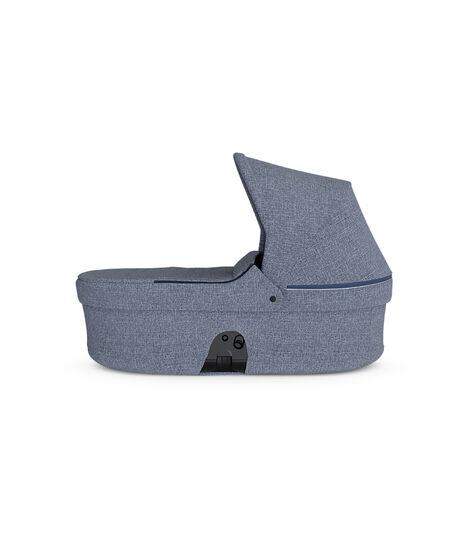 Stokke® Beat Carry Cot Blue Melange, Azul Melange, mainview