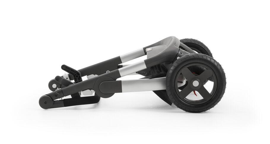 Stokke® Trailz™ Chassis, folded.