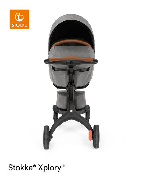 Stokke® Xplory® X Carry Cot Modern Grey, Modern Grey, mainview view 11