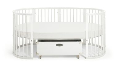 Stokke® Sleepi™ Junior, White. Junior Box.