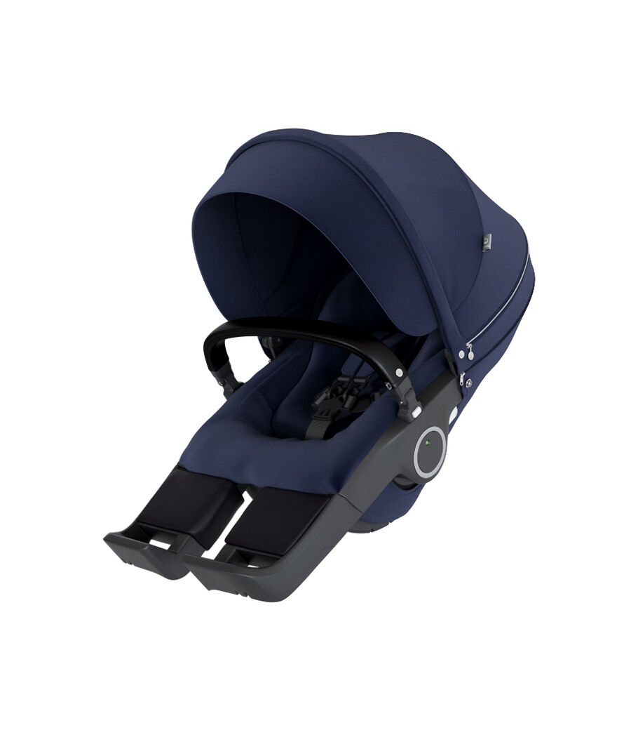 Stokke® Stroller Seat, Deep Blue, mainview