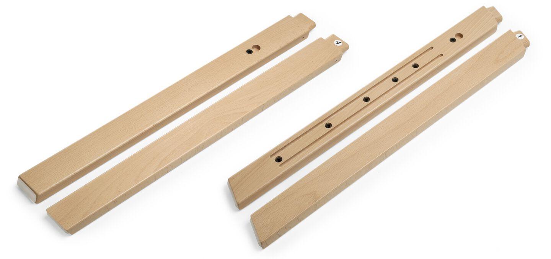 Stokke® Steps™ Wood leg set, Natural. Complete.