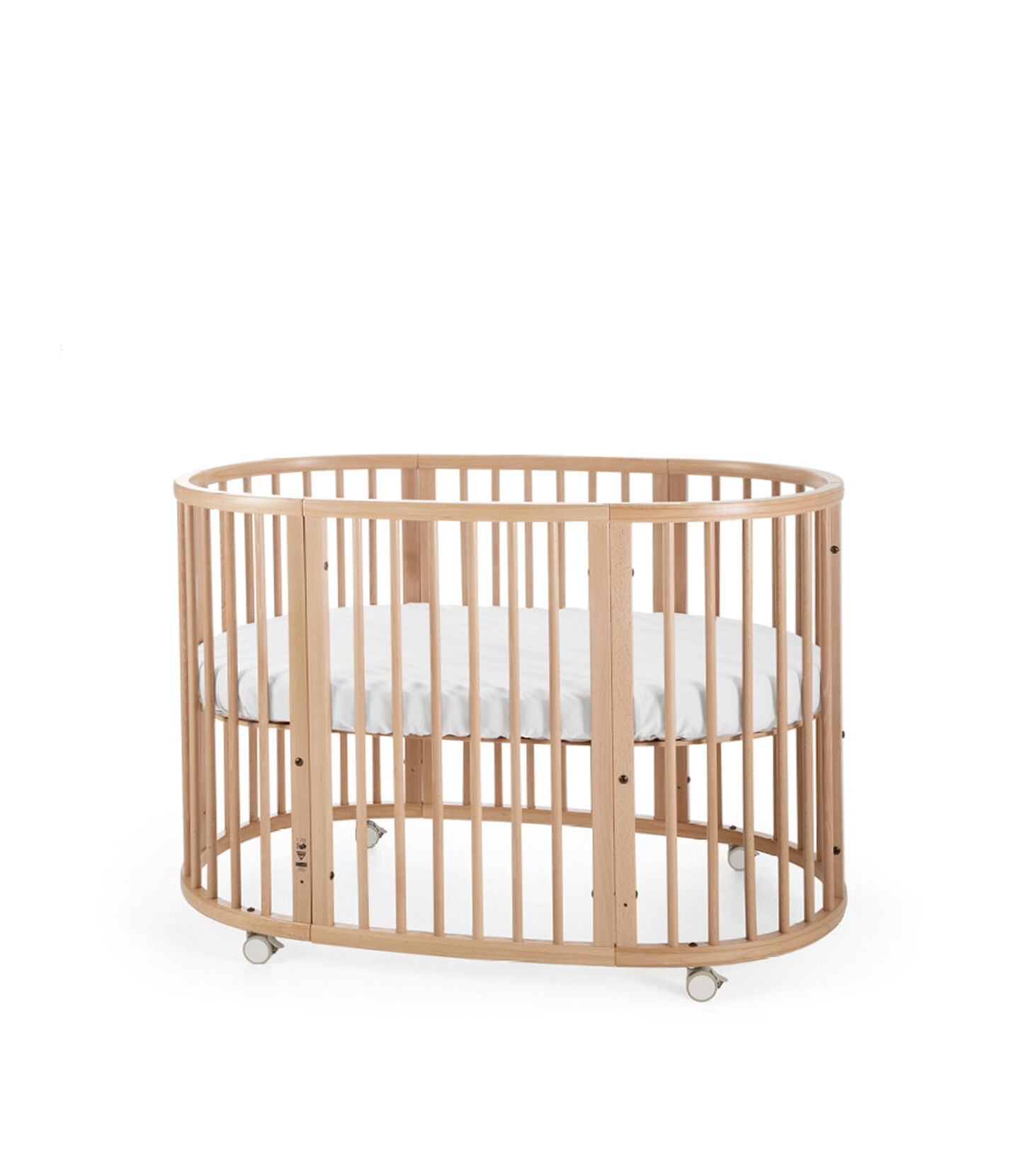 Stokke® Sleepi™ Bed Extension Naturell, Naturel, mainview view 3