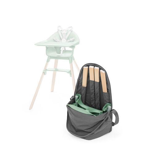 Stokke® Clikk™ Travel Bag, Dark Grey. Open. view 3