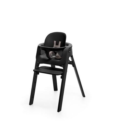 Chaise Stokke® Steps™ Noir, Noir, mainview view 3