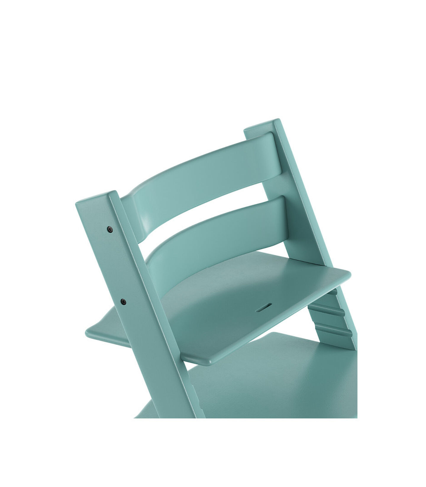 Tripp Trapp® Chair close up 3D rendering Aqua Blue