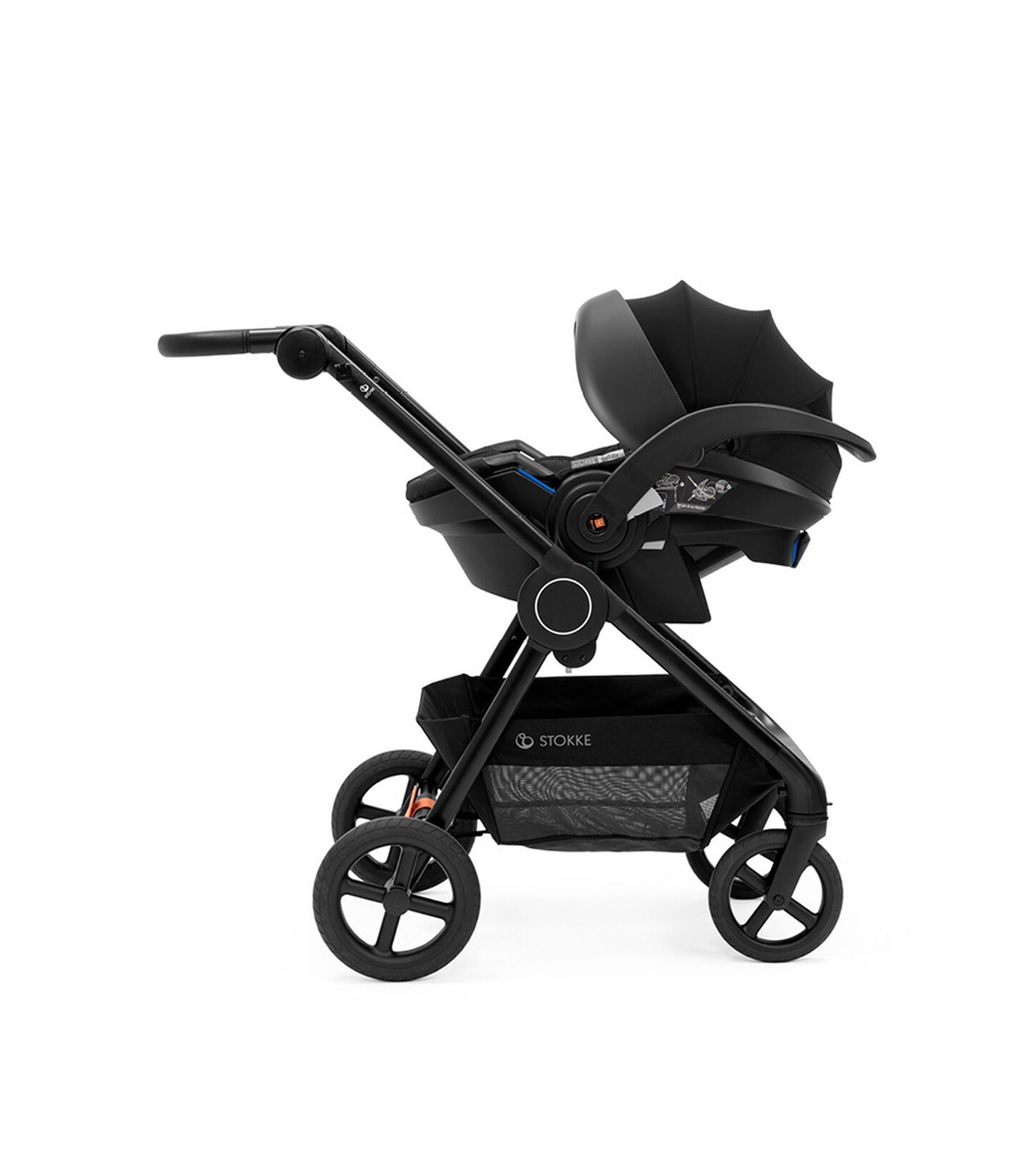 Stokke® Beat™ with Car Seat, Stokke® iZiGo Modular™ by BeSafe®.