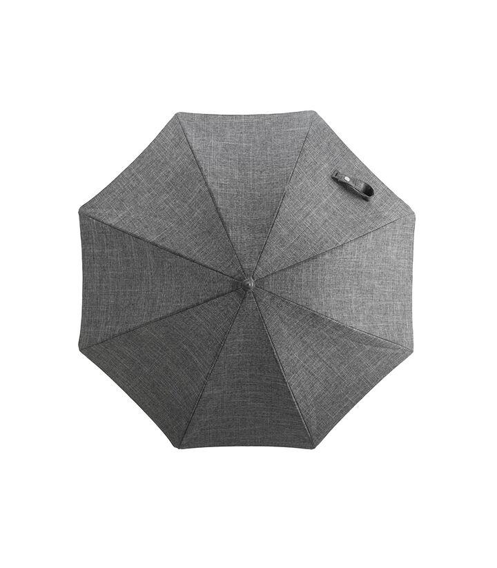 Stokke® Xplory® Black Parasol, Black Melange, mainview view 1