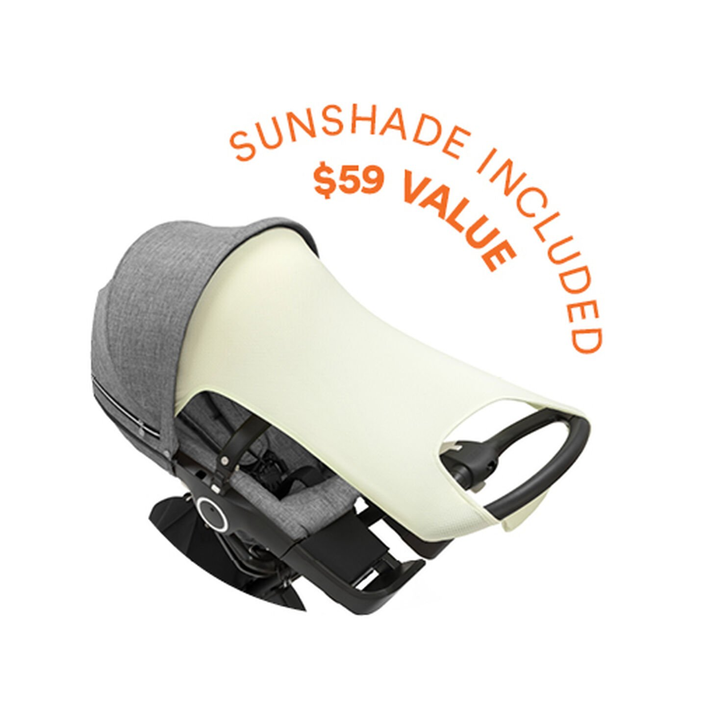Stokke® Xplory®. Sunshade included