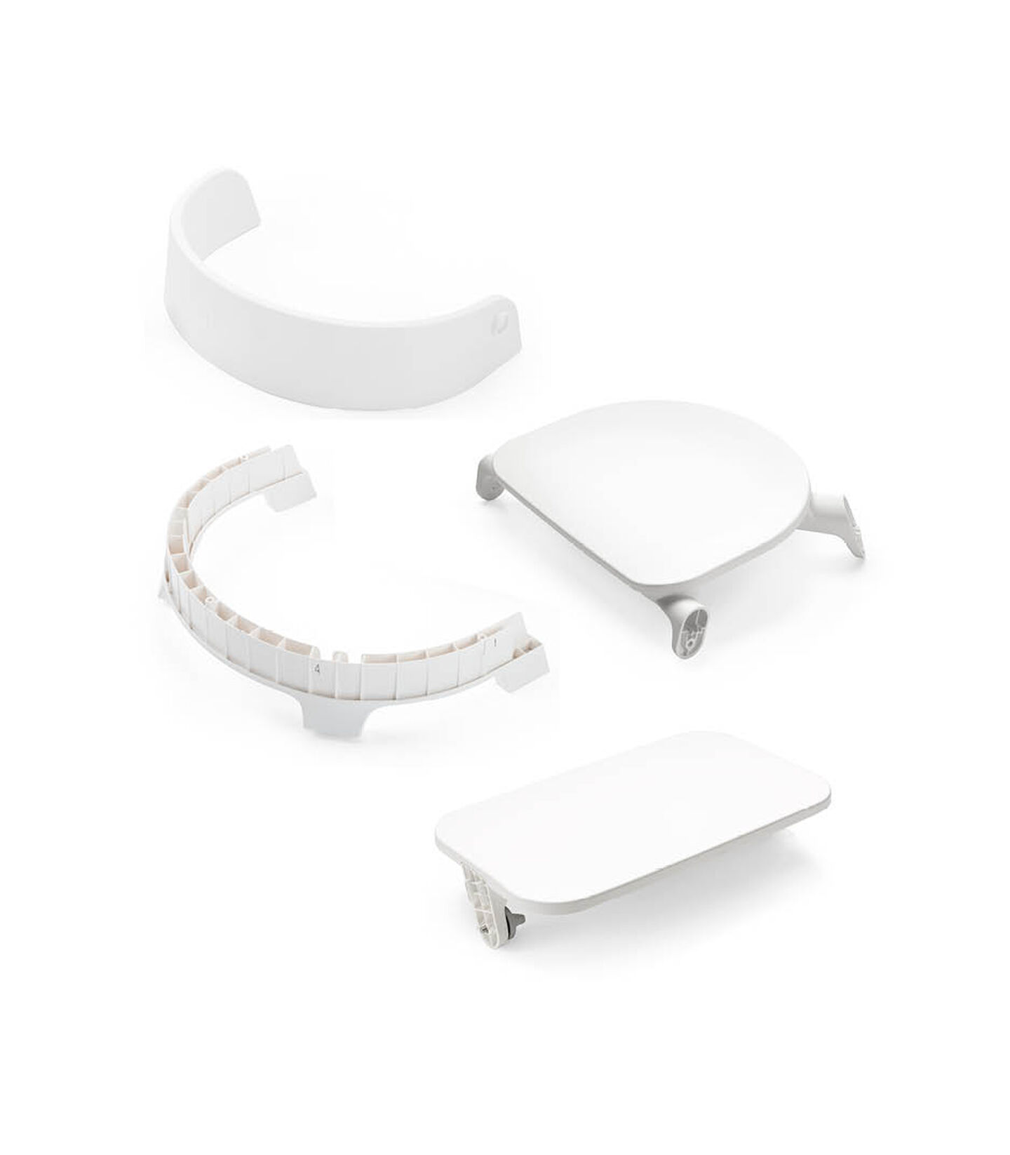 Stokke® Steps™ Chair Seat White, White, mainview view 2