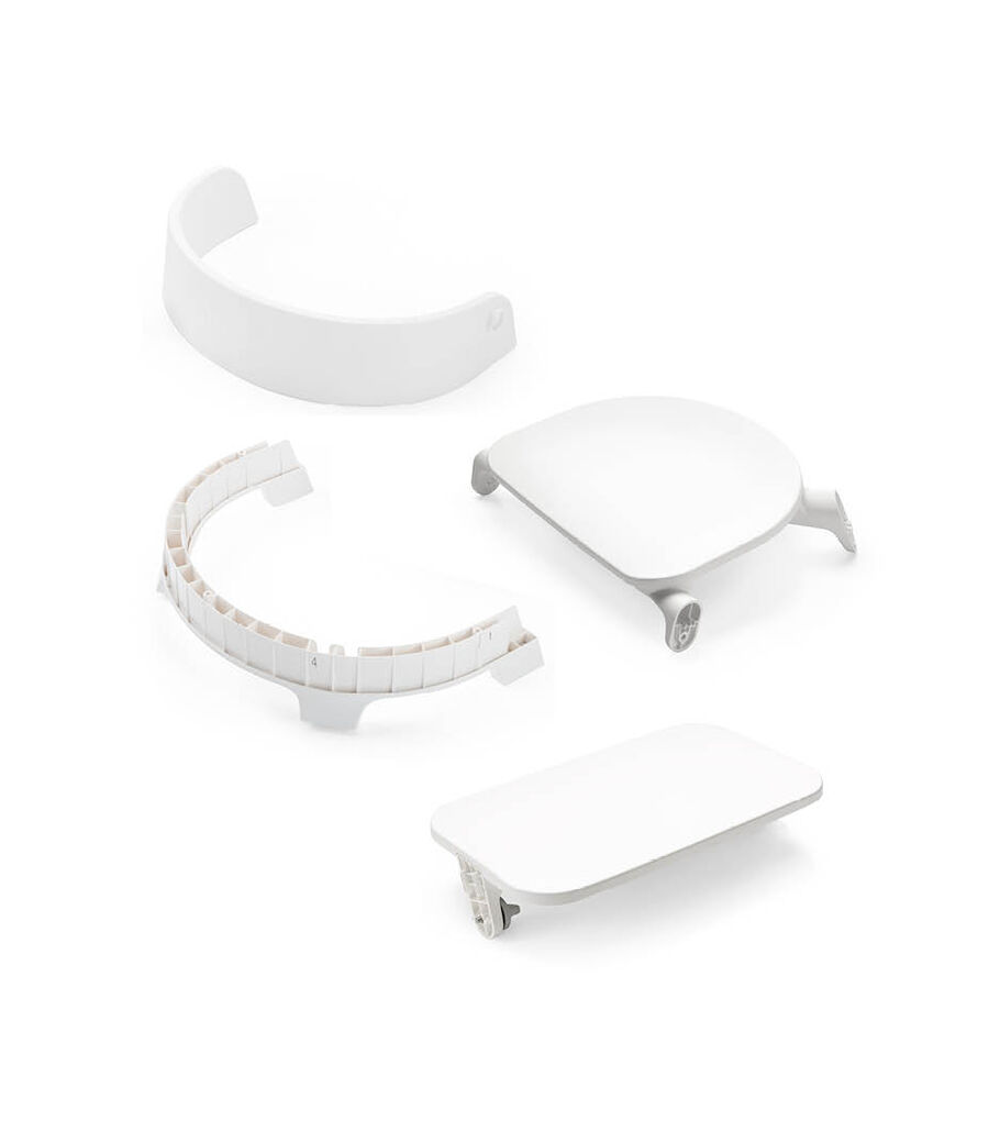 Stokke® Steps™ Chair Seat, White, mainview view 50