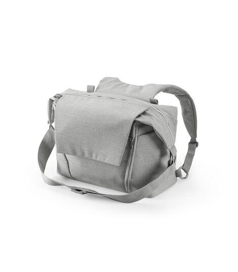 Stokke® Stroller Changing Bag, Grey Melange. view 2