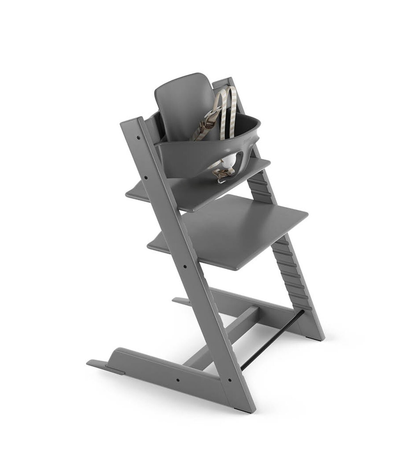 Tripp Trapp® Bundle High Chair US 18 Storm Grey, Storm Grey, mainview view 2